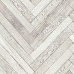 Fine Decor Wallpaper – White Wood Parquet Effect – Bathroom & Kitchen