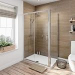 Rectangular Shower Enclosure 1000 x 800mm – Sliding Door – Framed – 6mm Glass