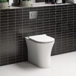Hardy Rimless Back To Wall Toilet – Slimline Soft Close Seat – Contemporary – Mode