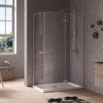 Jacuzzi – Essentials Shower Enclosure – 1000 x 800mm – Hinged Door – Rectangular