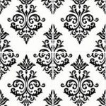 Pallade Black & White Wallpaper – Kitchen & Bathroom – 10 Metre Roll – Graham & Brown