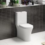 Hardy Rimless Close Coupled Toilet – Includes Fittings Pack – Soft Close Seat – Mode