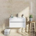 Beige Gloss Tile – Natural Stone Effect – Wall – 298mm x 598mm – Box of 6