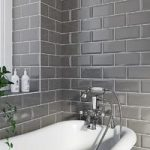 Metro Wall Tile – Bevel Gloss – 100mm x 200mm – Grey – Box of 50