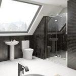 Hardy Rimless Bathroom Suite – With 8mm Shower Door – 1200mm – Mode