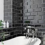 Black Metro Tile – Gloss Bevel – 100mm x 200mm – Price Per M