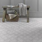 Floor Tile – Mr Jones – 331mm x 331mm – Dove Grey – Laura Ashley – Box of 9