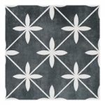 Floor Tile – Wicker – 331mm x 331mm – Charcoal – Laura Ashley – Box of 9