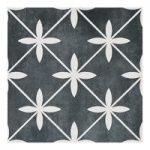 Floor Tile – Wicker – 331mm x 331mm – Charcoal – Laura Ashley – Box of 9