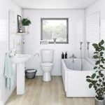 Clarity Straight Bath Suite – 1700 x 750mm – Single End – Contemporary