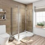 P Shaped Shower Enclosure – 1500 x 900mm – 6mm Glass – Contemporary – Right Handed