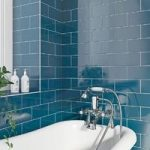 Navy Metro Tile – Wall – Gloss – 100mm x 200mm – Price Per M