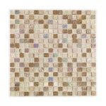 Mosaic Tile – Natural Stone – Wall – 300mm x 300mm – 1 Sheet – Freckle