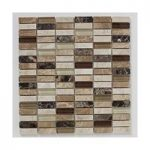 Mosaic Tile – Natural Stone – Wall – 305mm x 305mm – 1 Sheet – Depple