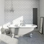 The Bath Co. Dulwich Freestanding Bath – Dove Grey – Traditional – Acrylic