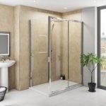 Multipanel Classic Travertine Unlipped Shower Wall Panel – 2400 x 1200