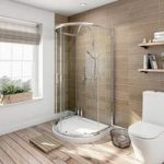 D Shaped Shower Enclosure – 1030 x 900mm – 6mm Glass – Sliding Door