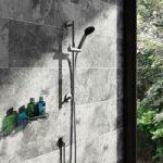 Slider Rail Kit – Contemporary Slider Riser – Shower Handset – Splash
