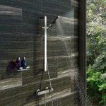 Thermostatic Bar Shower Valve – With Tetra Sliding Rail Kit – Contemporary – Quadra