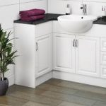 Fitted Bathroom Furniture – Panel – White – Florence