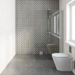 Monochrome Matt Tiles – Circle Feature Design – 331mm x 331mm – Box of 9