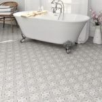 Floor Tile – Mr Jones – 331mm x 331mm – Charcoal – Laura Ashley – Box of 9