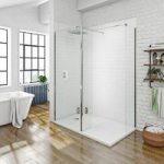 Mode Walk In 8mm Shower Enclosure – Rectangular Tray 1600 x 800mm