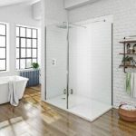 Mode Walk In 8mm Shower Enclosure – Return Panel & Tray 1600 x 800mm