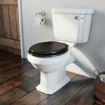 The Bath Co. Dulwich Close Coupled Toilet – Traditional – Black Soft Close Seat