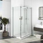 Elite Frameless Rectangular Shower Enclosure 1200 x 900mm – 10mm Glass