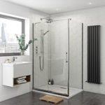 Levien Sliding Shower Enclosure – Easy Clean – 1400 x 800mm – Left Handed – Rectangular
